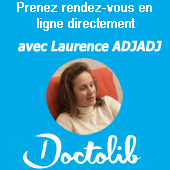 Laurence ADJADJ, hypnothérapeute et psychologue. RDV sur Doctolib
